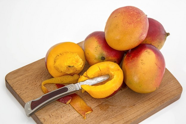 Avocado og mangosalat